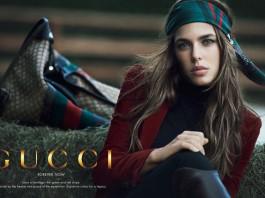 Carlota Casiraghi para Gucci