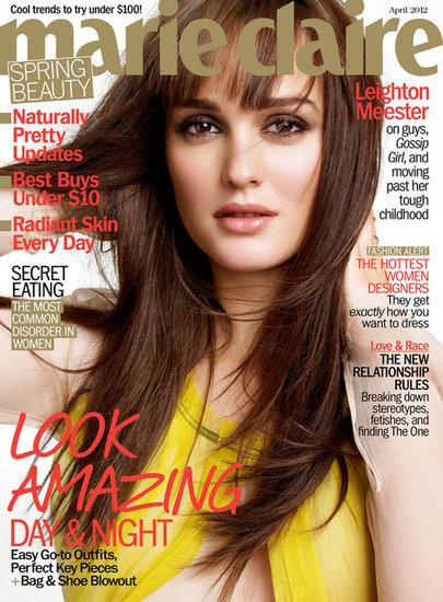 Leighton Meester portada Marie Claire