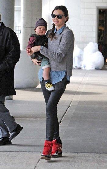 Miranda Kerr en bambas