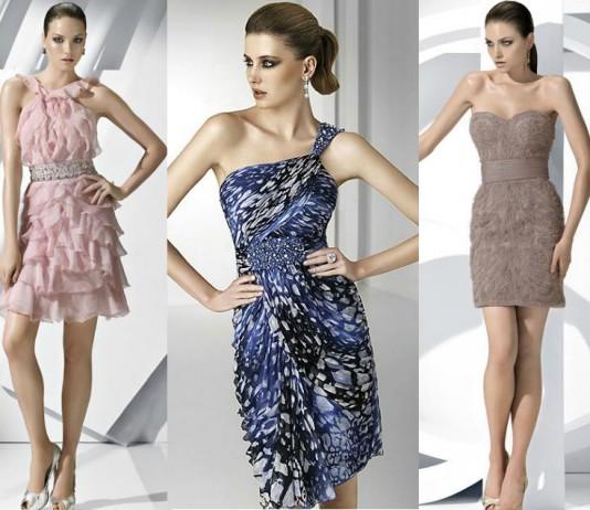 Pronovias vestidos cóctel invitadas2012