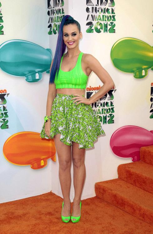 Katy Perry kid's Choice Awards