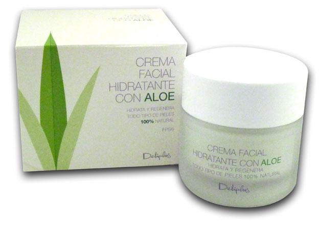Crema facial hidratante Deliplus