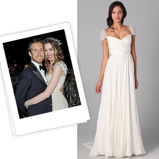 Anne Hathaway vestido de novia