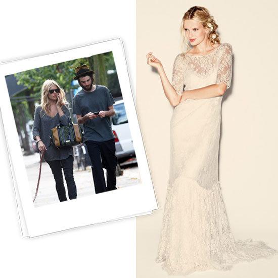 Sienna Miller vestido de novia