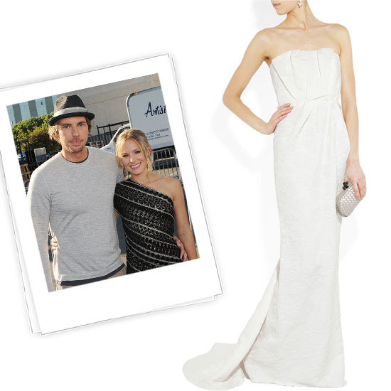 Kristen Bell vestido de novia