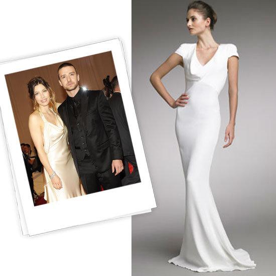 Jessica Biel vestido de novia