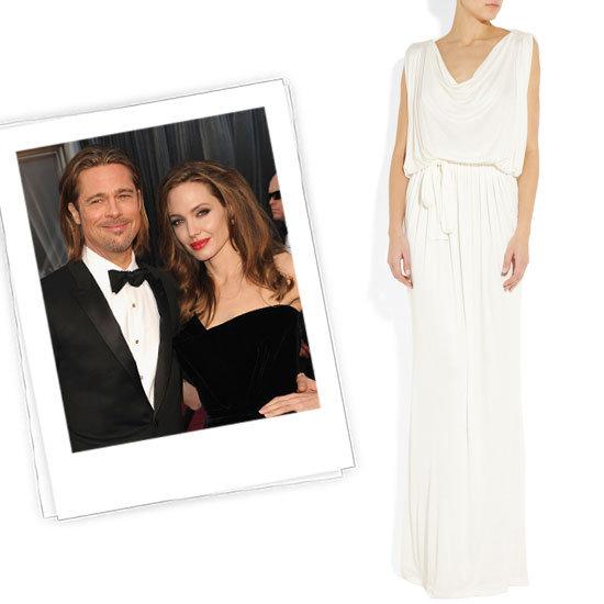 Vestido de novia de ANgelina Jolie