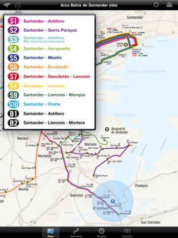 Cantabria ya tiene su transporte accesible por smartphone 3