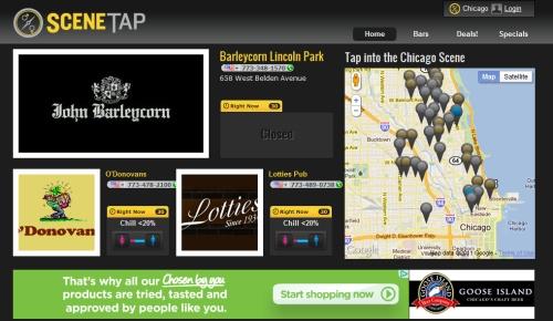 SceneTap, la aplicación perfecta para los bares de noche 3