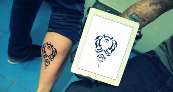 Lanzan una aplicación para realizar tatuajes en el smartphone 3