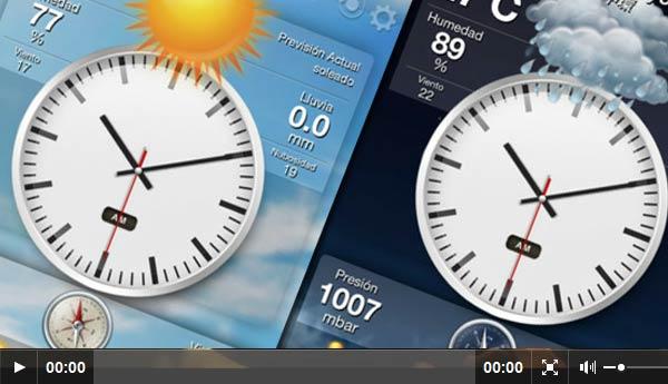 Ourwheather, destacada aplicación para el clima 3