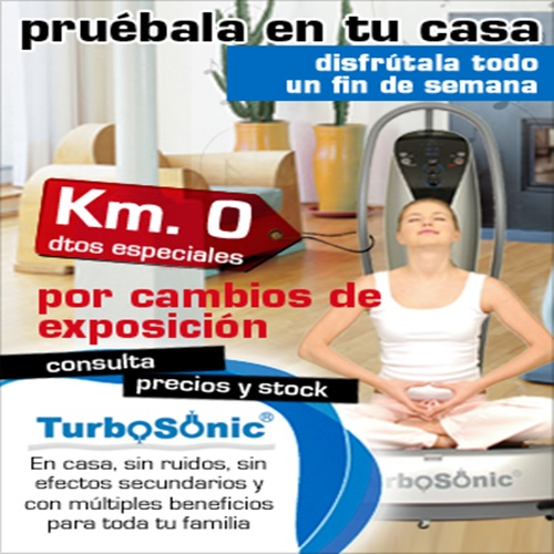 Sigue el método de las famosas con Turbosonic 3