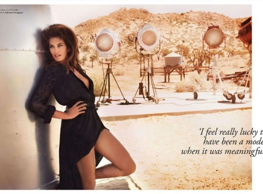 cindy crawford in tatler