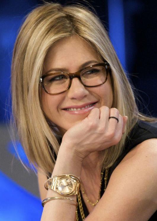 Gafas de pasta, look de celebrity 3