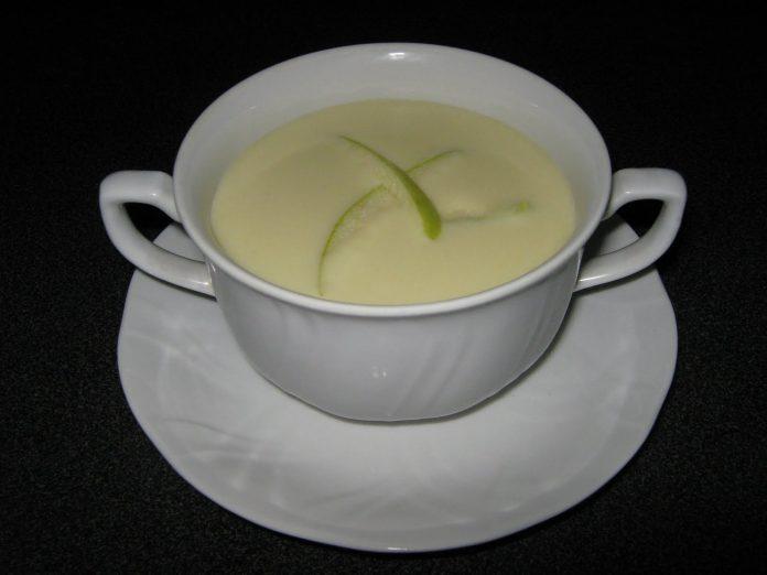Vichyssoise de manzana, una receta sana y deliciosa 3