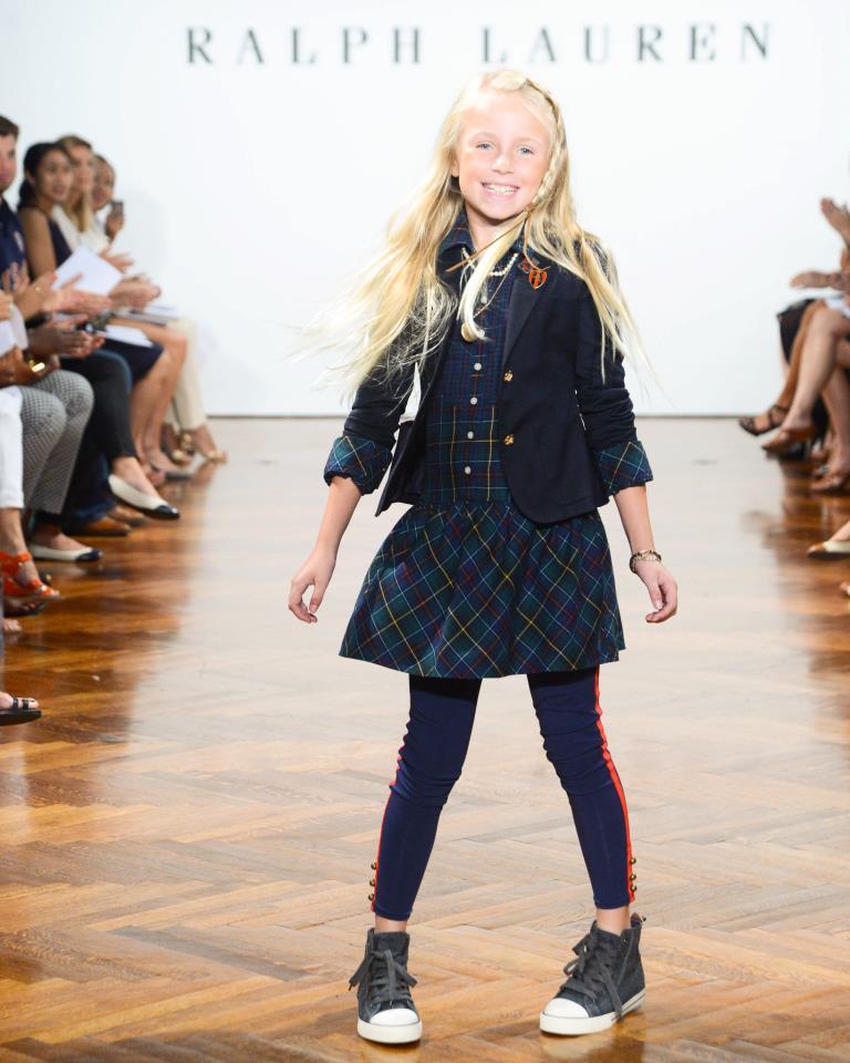 2766cefcdb Pasarela infantil otoño Ralph Lauren - Mujeres - Blog de belleza y ...