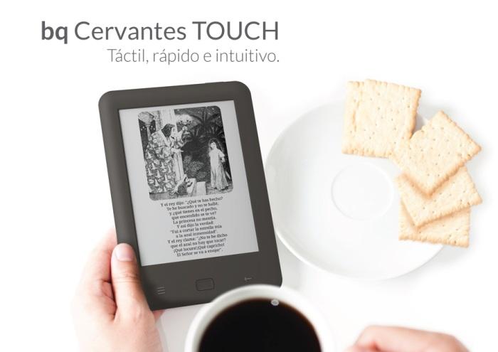 Nuevo bq Cervantes Touch 1