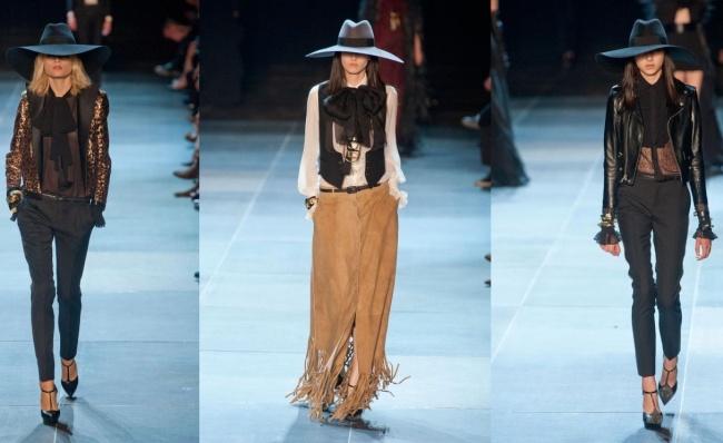Moda vaquera de Yves Saint Laurent - Mujeres - Blog de belleza y ...