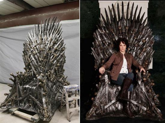 R plica del trono de hierro de juego de tronos mujeres - Trono de hierro ...