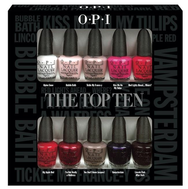 Nueva colección de miniaturas de los esmaltes de la marca OPI ...