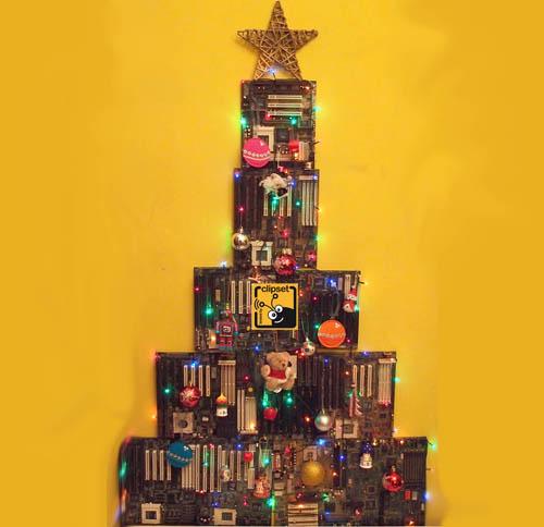 Como hacer un arbol de navidad con cajas de madera