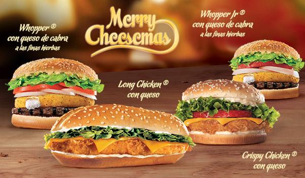 Feliz Navidad con Burger King