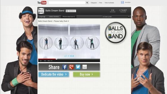 Balls Dream Band, el nuevo grupo musical de Bref WC Poder Activo 2