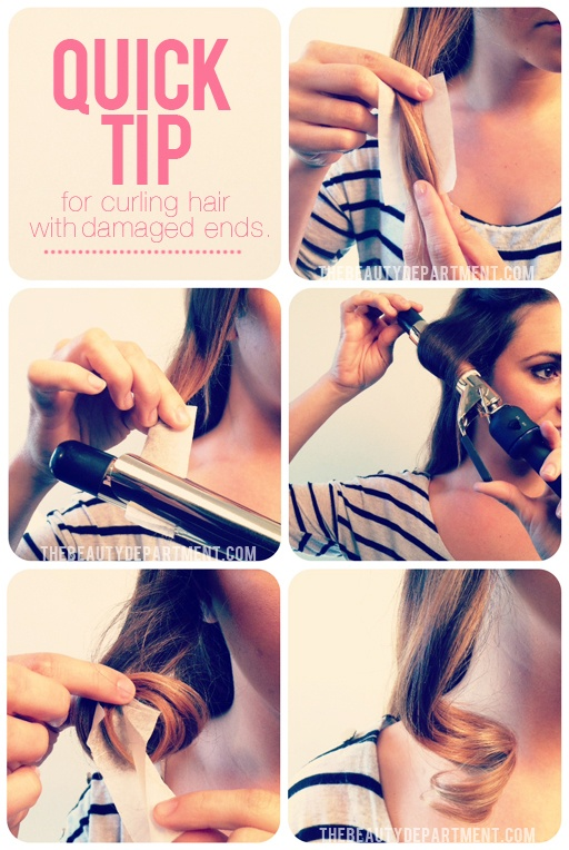 Truco para rizar tu cabello sin estropearlo con el rizador 3