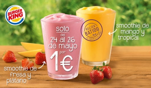 smoothies burguer king