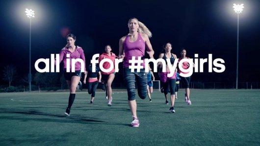 """Adidas nos resalta la importancia del apoyo entre las mujeres en su campaña """"All in for #mygirls"""" 3"""