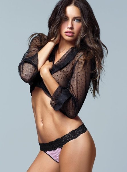 Adriana Lima for Victoria's Secret Lingeie July 2013