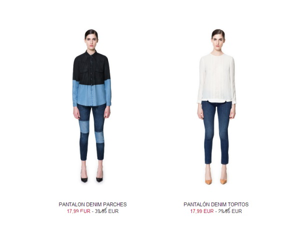 Códigos promocionales mejor calidad estilo moderno Rebajas Zara verano 2013 pantalones - Mujeres - Blog de ...