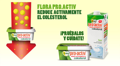 Reduce tu nivel de colesterol gracias a Flora pro.activ 3