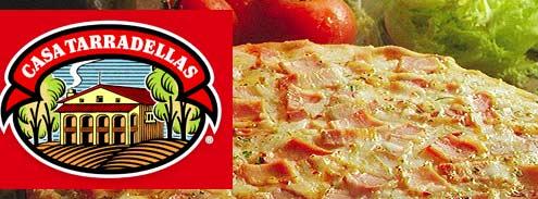 casa tarradellas pizzas