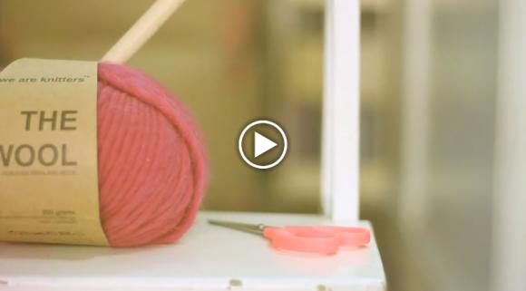 curso gratis punto Cómo tejer punto con We are Knitters