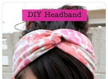 Cómo hacer una banda para tu pelo 2