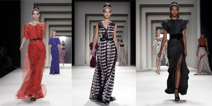 Radiante Carolina Herrera en la Fashion Week NY 2