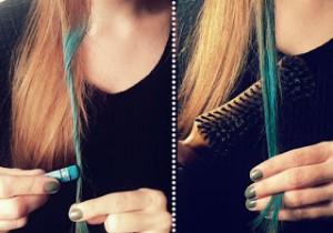 Tiza para el pelo