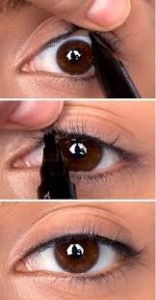 Eyeliner invisible
