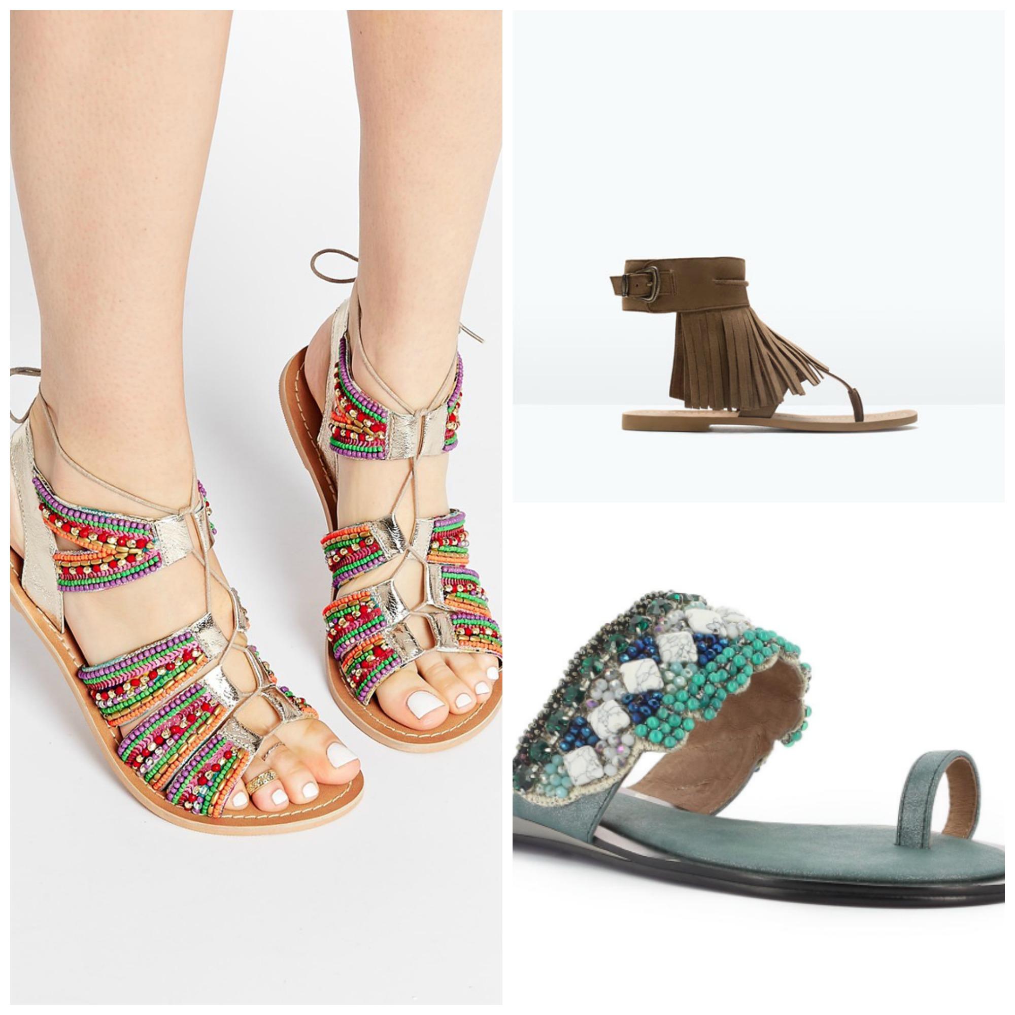 sandalias para el día a día verano