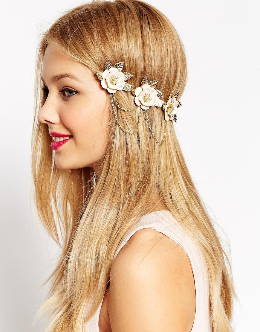 coronas de flores de moda
