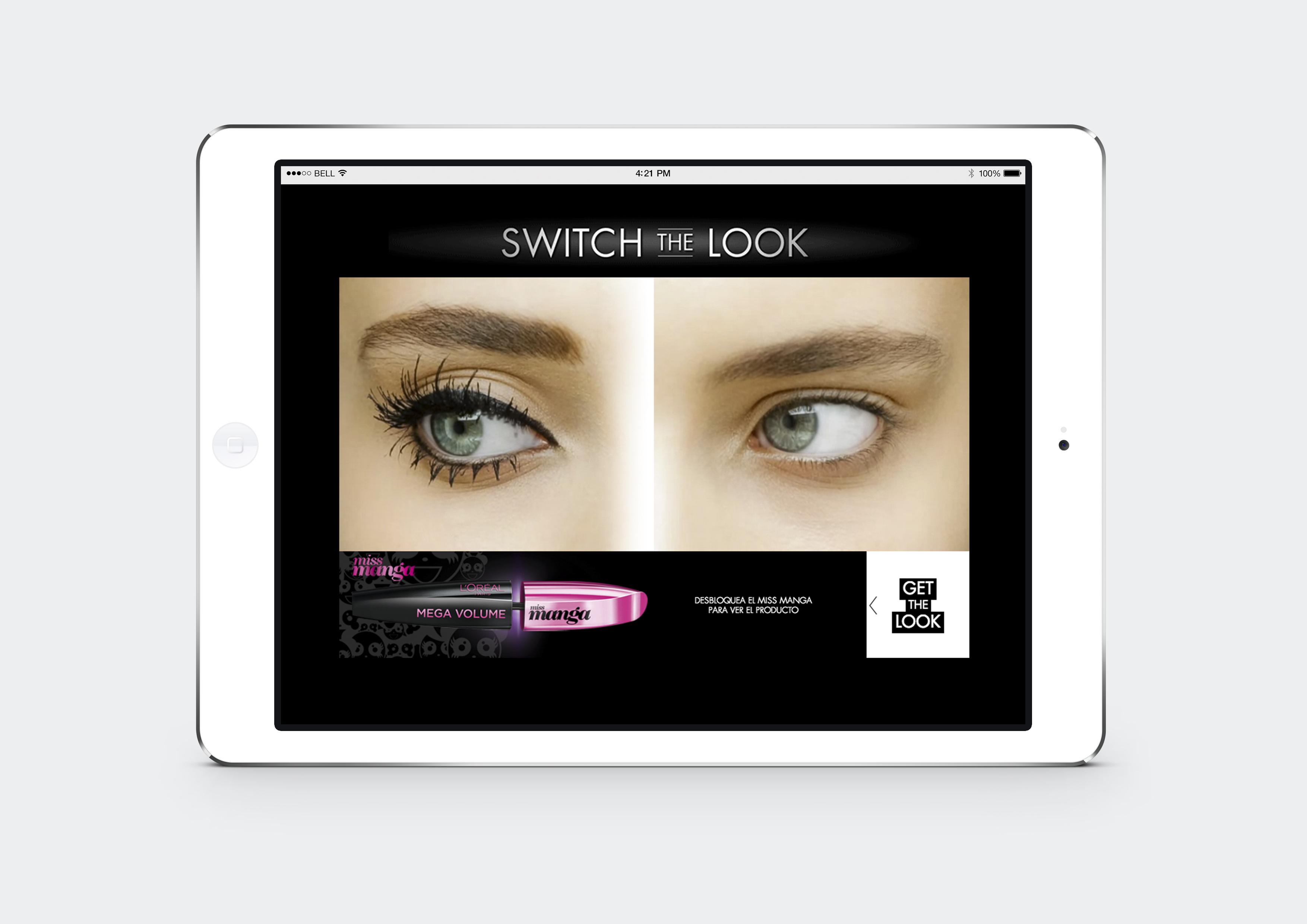 APP Switch the Look Tienda L'ORÉAL PARIS