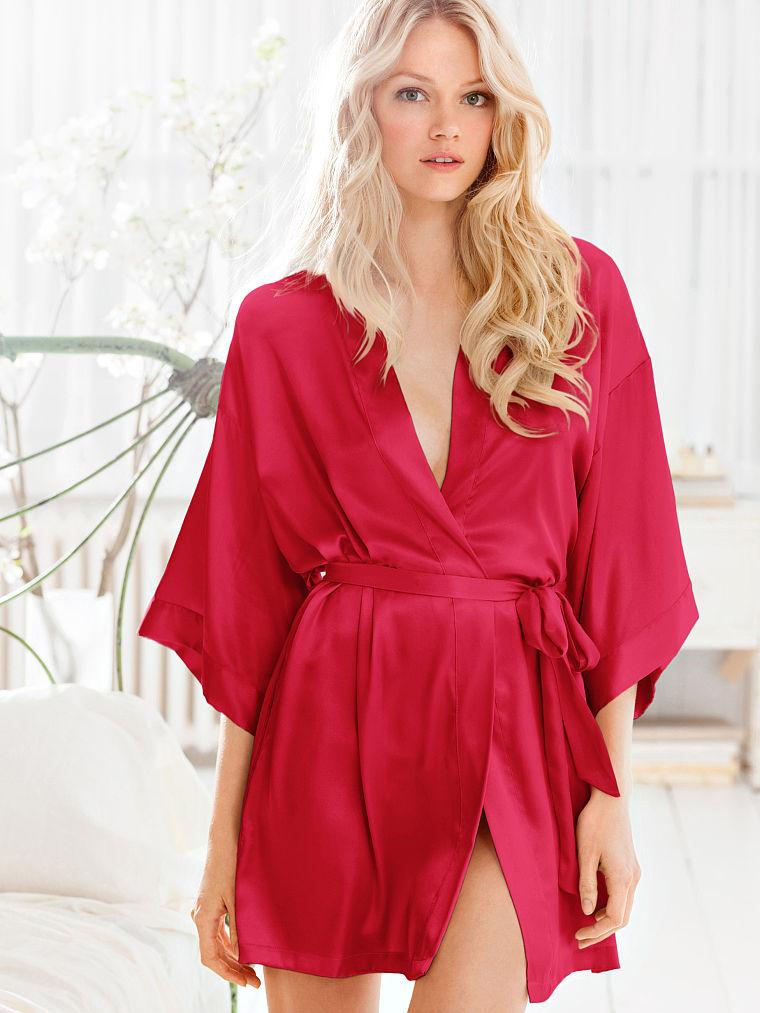camison rojo kimono