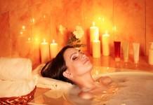 baño en casa