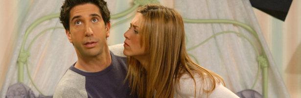 Serie Friends, Rachel y Ross