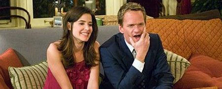 Serie Cómo conocía vuestra madre. Robbin y Barney
