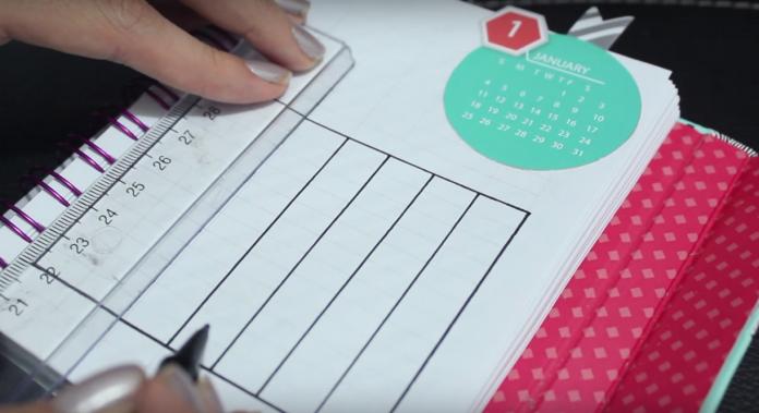 DIY: cómo hacer una agenda para organizarte 2