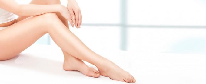 piernas cuidadas