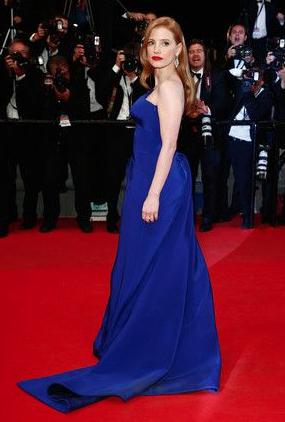 Jessica Chastain Versace