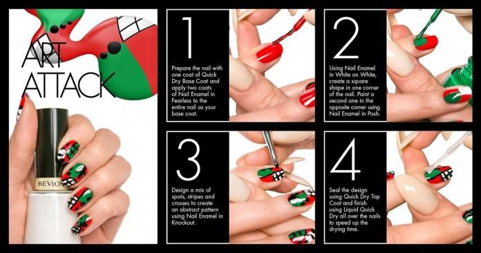 Decoración de uñas artística 2